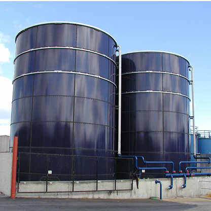 Galvanised Steel Water Storage Tanks Fluid Storage