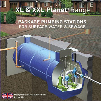 XL & XXL Packaged Pumping Stations